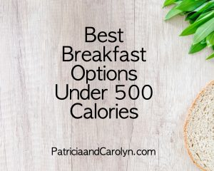 the best breakfasts under 500 calories