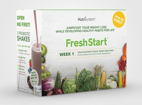 nutrisystem freshstart box