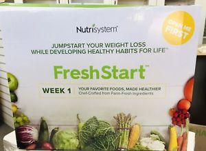 the new nutrisystem freshstart box