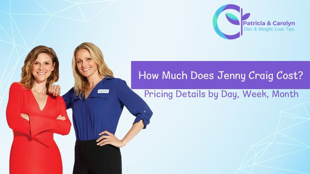 PatriciaandCarolyn.com looks at the pricing details for jenny craig rapid results