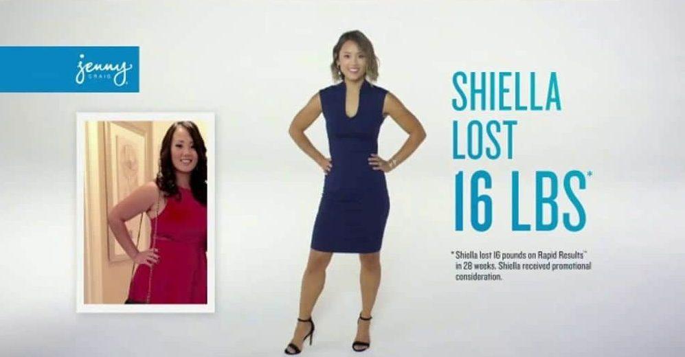 shiella lost 16 pounds