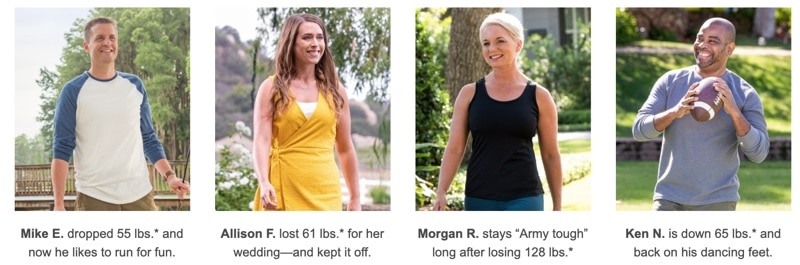 some people share their Nutrisystem success stories