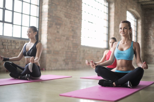 yoga is a great exercise option when following the diet plan