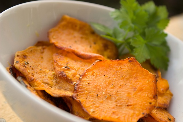 some Sweet Potatoes in a bowl