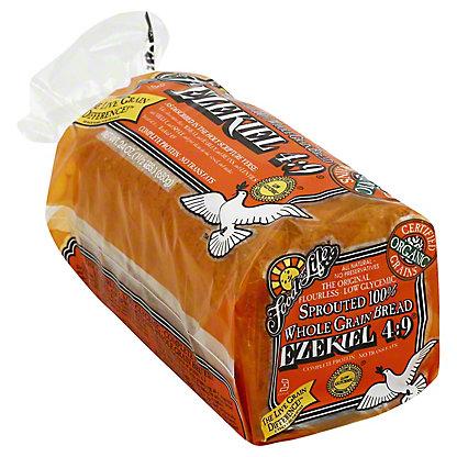 a loaf of exekiel bread