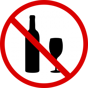 no drinking during Phase 1