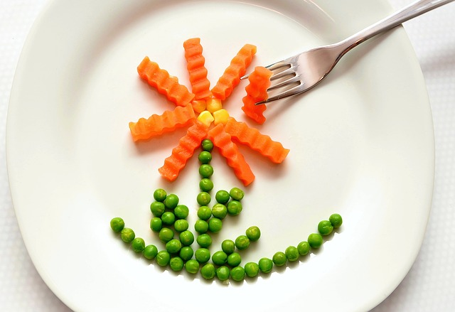 some frozen veggies on a plate