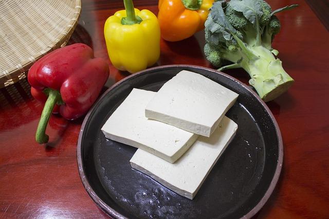 slice of tofu