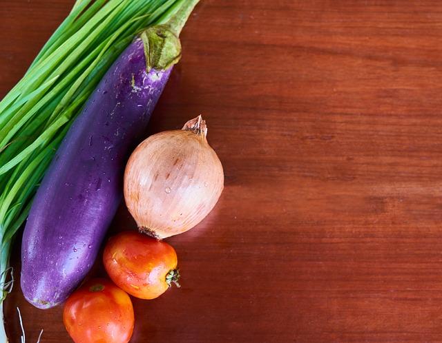 tomato and eggplant