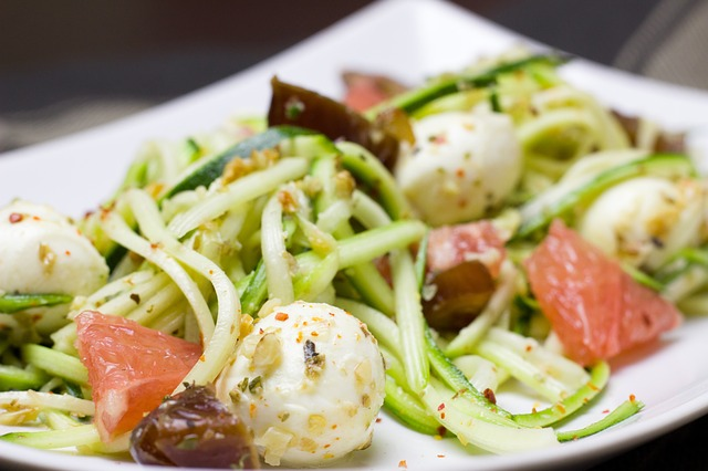 my favorite zoodle dish