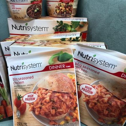 the Nutrisystem food menu