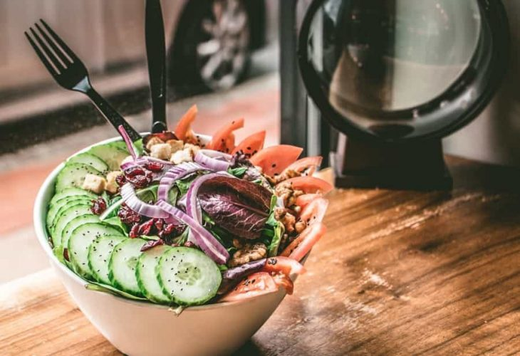 eating salad daily for weight loss