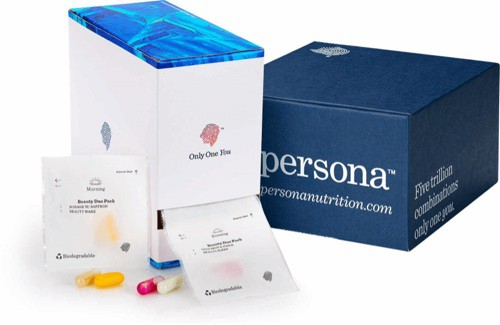 some of Persona's personalized daily vitamins